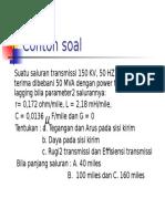 Soal Transmisi B C