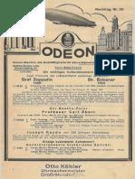 1932-05 - Odeon Mai 1932 Nachtrag Nr. 20