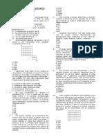 Práctica Nº 09 - Analisis Combinatorio