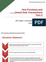 HirePurchaseAndSaleTransactionsPart2
