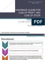 InsuranceClaimsForLossOfStockAndLossOfProfit