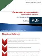 IssuesInPartnershipAccountsPart5