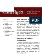 Mineral Physics Module