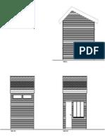 pavillion wood facade wood shingles facades