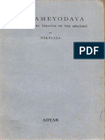 Manameyodaya An Elementary Treatise of Mimansa of Narayana 1933 - Theosophical Publishing House.pdf