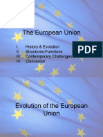 History and Struct Functions of EU