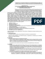 Acta de La Sesión Ordinaria Del Consejo Universitario-UNAC