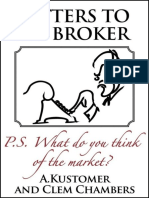 Letters to My Broker - Clem Chambers