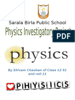 physics investigatory class 12 full exclusive project cbse