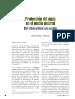Protección Del Agua Como Medio Natural
