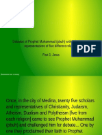 Debate of Prophet Muhammad With Jews