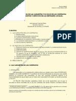 Farfan 2012 Aspectos Economicos de Las Garantias y Pago de Contratos