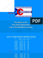 The effect of WestRock closing