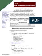 Licensing CDCA