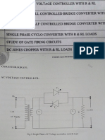 Power Electronics and Simulation Lab Manual