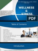 Wellness & Stress