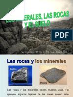 Minerales Rocas y Suelo