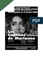 Les Caprices de Marianne - Lecrevecoeur.ch