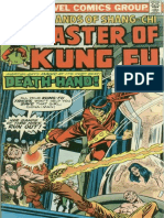 Shang-Chi Master of Kung Fu 35 Vol 1