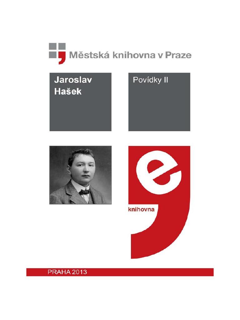 813f4ed689f Povidky II Hasek