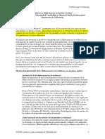 Violencia y Delincuencia en América Latina