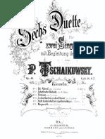 TschaikowsyDuette Op. 48
