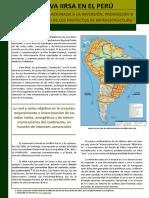 Iniciativa Iirsa en El Peru