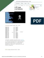 Los 14 Virus de PC Mas Destructivos de La Historia - Taringa!