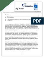 Factsheet 112 Iron in Drinking Water