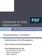 Training to IA on Risk Management