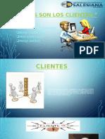 CLIENTES-Satifacion del consumidor-Tipos de clientes