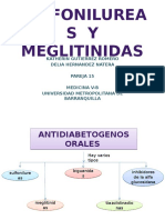 Sulfonilureas y Meglitinidas1