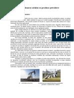 Contaminarea solului cu produse petroliere.doc
