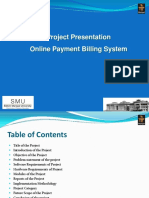 PHP and MySQL Project on Online Payment System