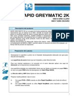 Ficha Tecnica Rapid Greymatic 2K