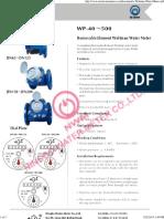 A Woltman Water Meters