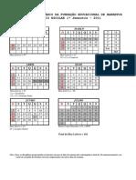 Calendar i o Escola r 2011