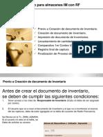 Guía de Inventario Para Almacenes IM Con RF