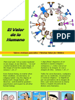 El Valor de Lo Humano - Human Value
