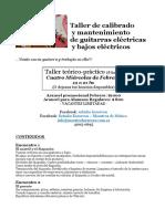 Taller de Calibrado y Restauración de Guitarras p PDF