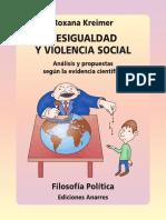 Desigualdad y Violencia Social Analisis