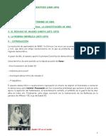El Sexenio Democrático _1868-1874