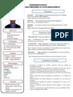 CV Modéle