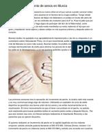 operacion de aumento de senos en Murcia