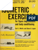 Isometric Exercises for Figure Improvement and Body Conditioning
