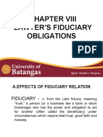 Report Fiduciary Obligations 8.01-8.05