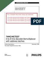74hct237n Decoder:Demultiplexer