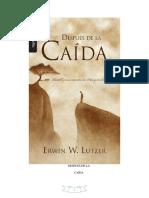 Despues de La Caida - Erwin W. Lutzer