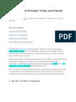 21 Command Prompt Tricks.docx
