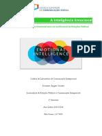 Trabalho de LCI - Inteligência Emocional nas RP